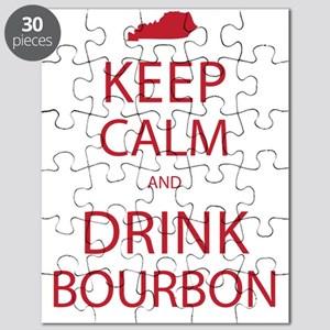 Keep Calm and Drink Bourbon Puzzle