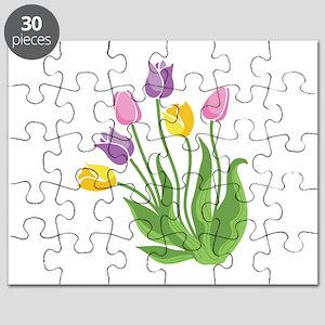 Tulips Plant Puzzle