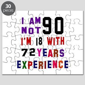 90 Birthday Designs Puzzle
