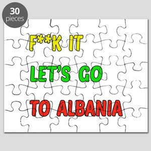 Let's go to Albania Puzzle