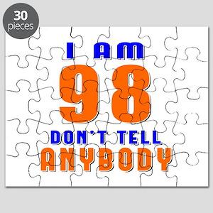 I am 98 Don't Tell Anybody Puzzle