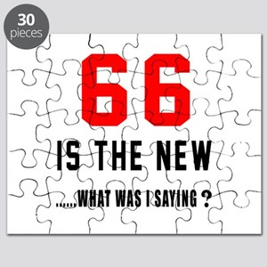 66 Is The New What Was I Saying ? Puzzle