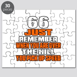 66 Just Remember Birthday Designs Puzzle