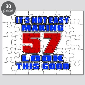It's Not Easy Making 57 Puzzle