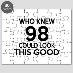 Who Knew 98 Could Look This Good Puzzle