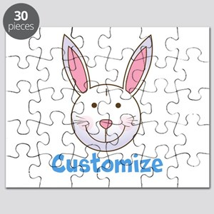 Custom Easter Bunny Puzzle