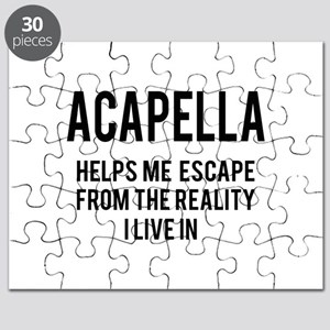 Acapella Helps me escape from the reality Puzzle