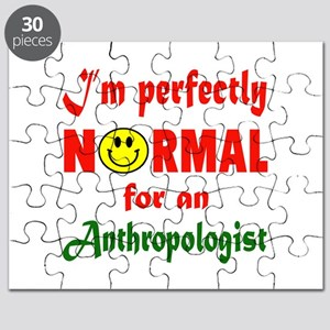 I'm Perfectly normal for an Anthropologist Puzzle