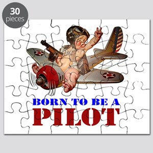 BORN TO BE A PILOT Puzzle