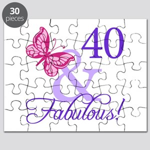 40 And Fabulous Puzzle