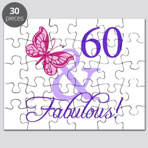 60 And Fabulous Puzzle