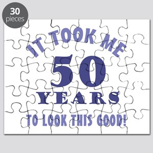 Hilarious 50th Birthday Gag Gifts Puzzle