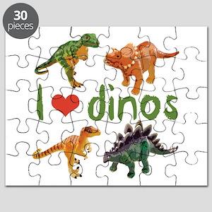 I Love Dinos Puzzle