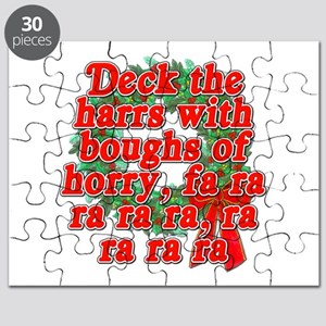 Deck The Harrs - Christmas Story Chinese Puzzle