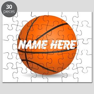 Customizable Basketball Ball Puzzle
