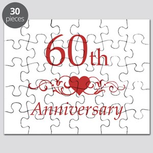 60th Wedding Anniversary Puzzle