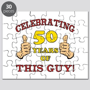 50th Birthday Gift For Him Puzzle