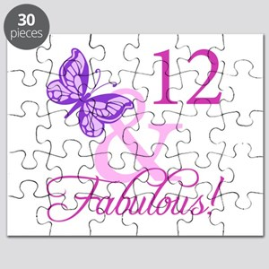 Fabulous 12th Birthday Puzzle