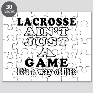 Lacrosse ain't just a game Puzzle