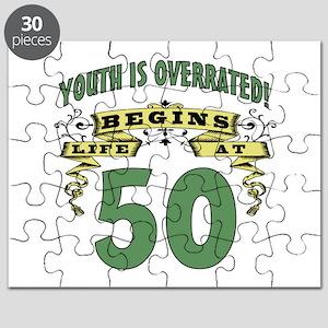 Life Begins At 50 Puzzle