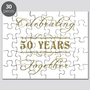 Celebrating 50 Years Together Puzzle