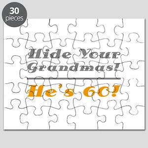 Hide Your Grandmas, He's 60 Puzzle