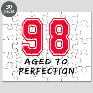 98 Year birthday designs Puzzle