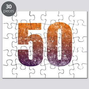 Cool 50th Birthday Puzzle