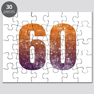 Cool 60th Birthday Puzzle