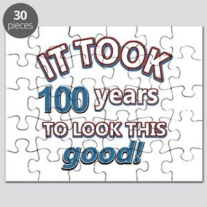 It took 100 years to look this good Puzzle