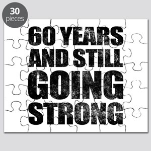 60th Birthday Still Going Strong Puzzle