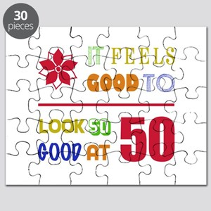 Funny 50th Birthday (Feels Good) Puzzle