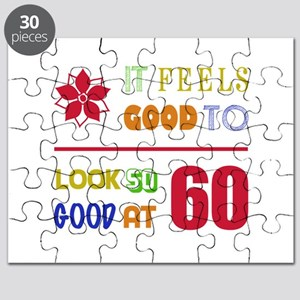Funny 60th Birthday (Feels Good) Puzzle
