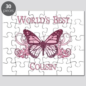 World's Best Cousin (Butterfly) Puzzle