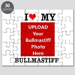 Bullmastiff-Love My Bullmastiff-Personalized Puzzl