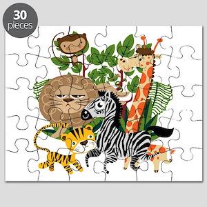 Animal Safari Puzzle