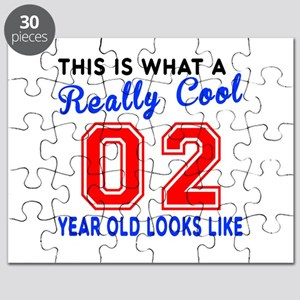 Really Cool 02 Birthday Designs Puzzle