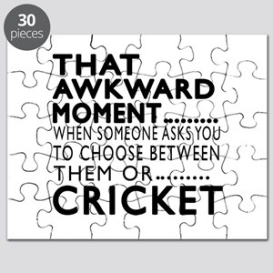Cricket Awkward Moment Designs Puzzle