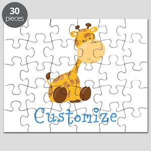 Custom Baby Giraffe Puzzle
