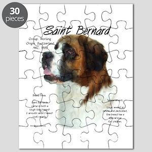 Saint Bernard (Rough) Puzzle