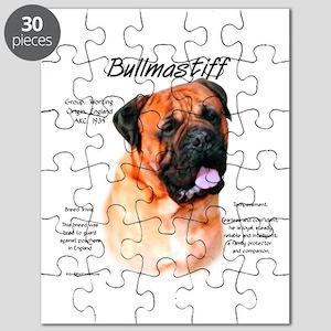 Bullmastiff (red) Puzzle