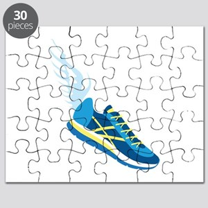 Running Shoe Wing Puzzle