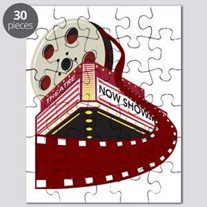 theater cinema film reel rolling Puzzle