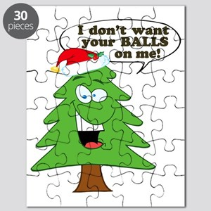Christmas Tree Harassment Puzzle