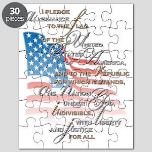 US PLEDGE OF ALLEGIANCE2 Puzzle