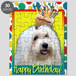 BirthdayCupcakeCotondeTulear Puzzle