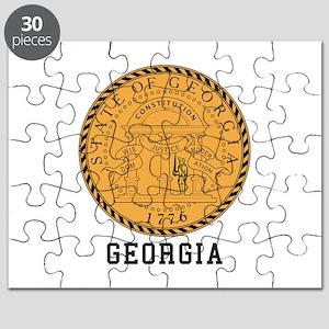 Georgia Seal Puzzle