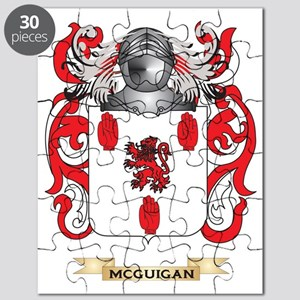 McGuigan Coat of Arms - Family Crest Puzzle