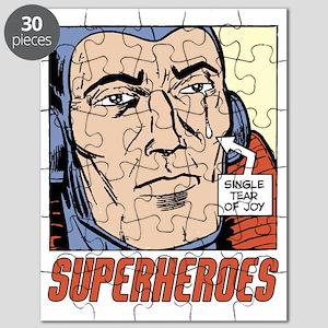 Superhero Tear of Joy Puzzle