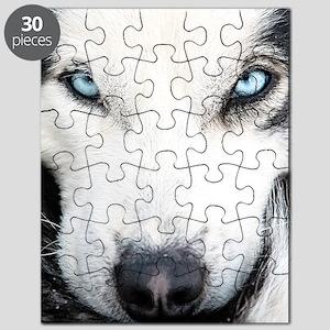 Blue Eyed Husky Puzzle